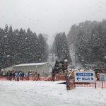 連休は、研修で広島へスキー場にヽ(^o^)