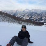 雪山最高です(^-^)/